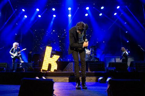 the killers on stage
