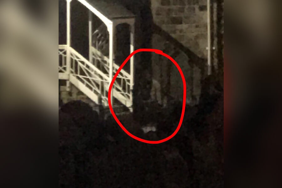 ghost in the corner