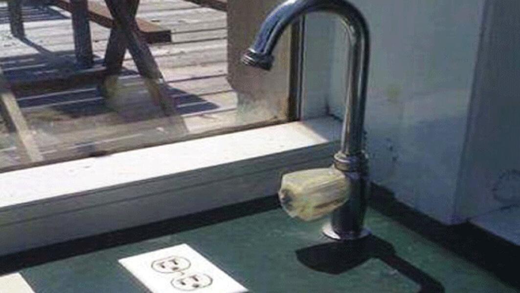 sink trouble