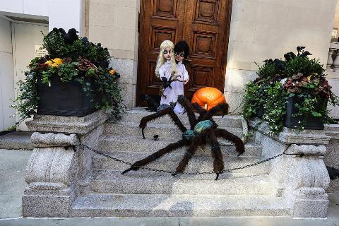 Halloween Decoration in New York