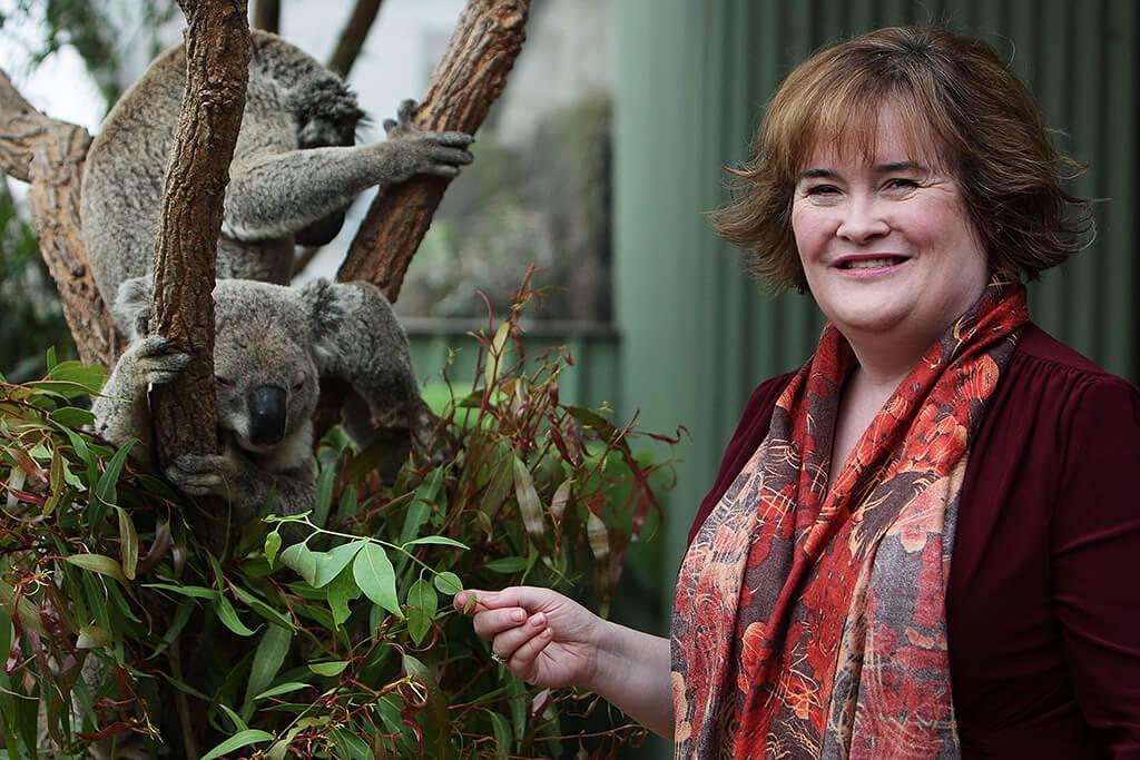 Susan Boyle Visits WILD LIFE Sydney