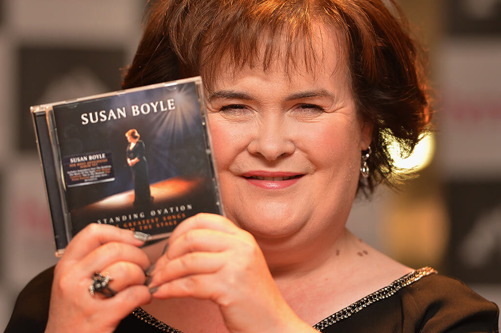 Susan Boyle Signs Her New Album At HMV Glasgow