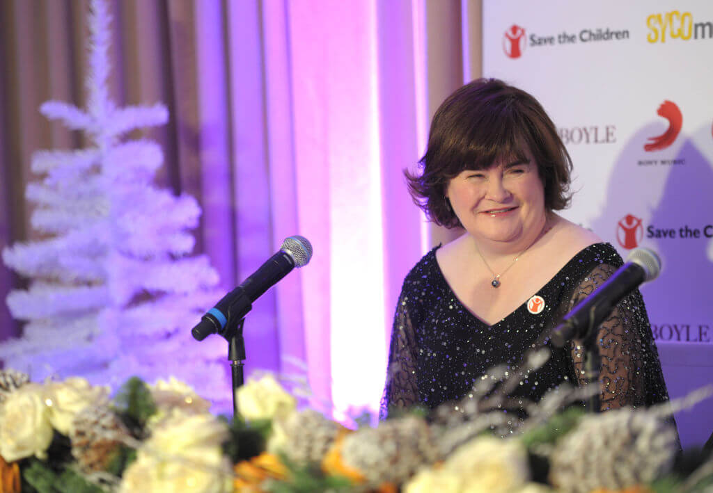 Susan Boyle duet announcement