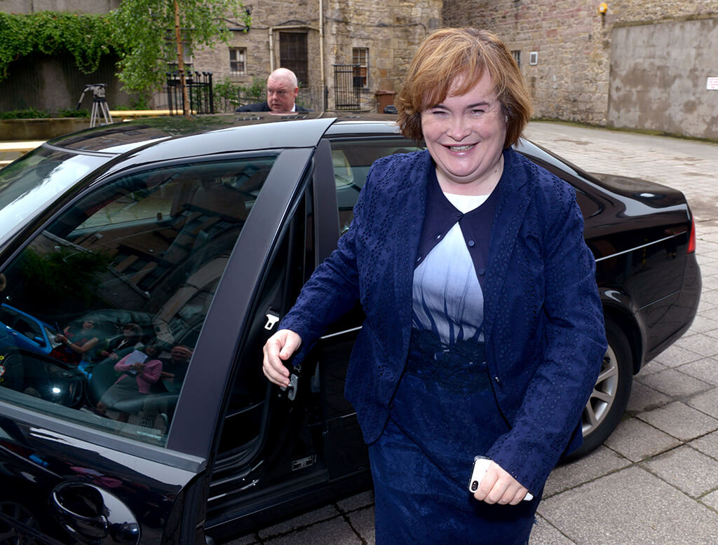 Susan Boyle Receives An Honorary Doctorate At Queen Margaret University