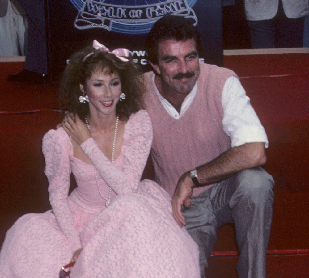 Tom Selleck receives a Hollywood Walk of Fame Star