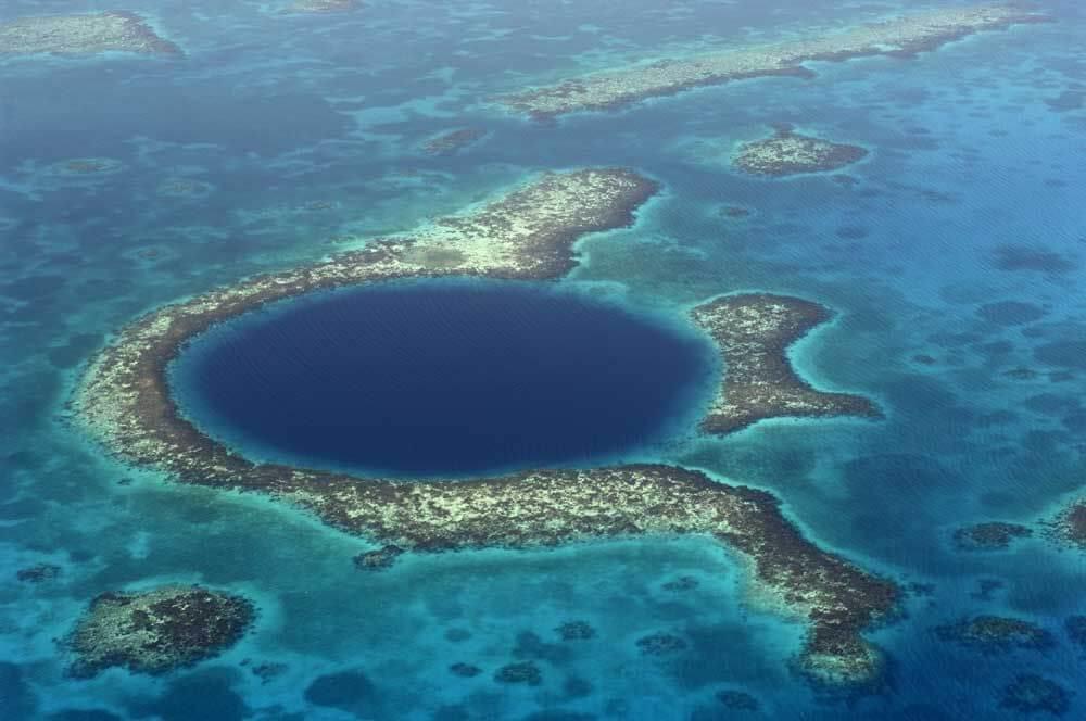 giant blue hole