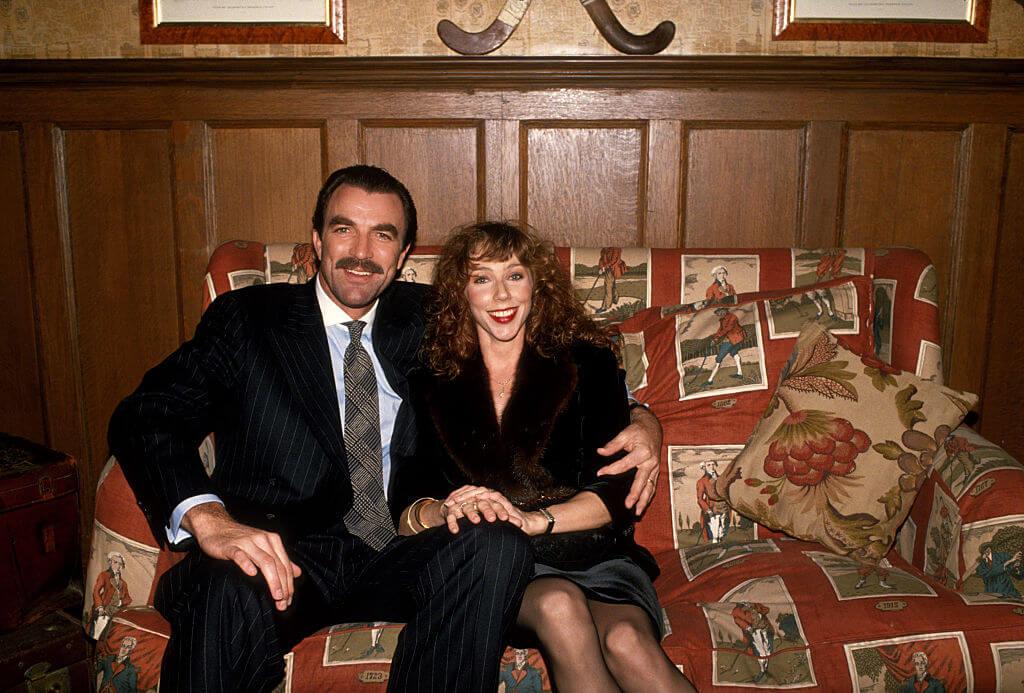 Tom Selleck and wife Jillie Mack