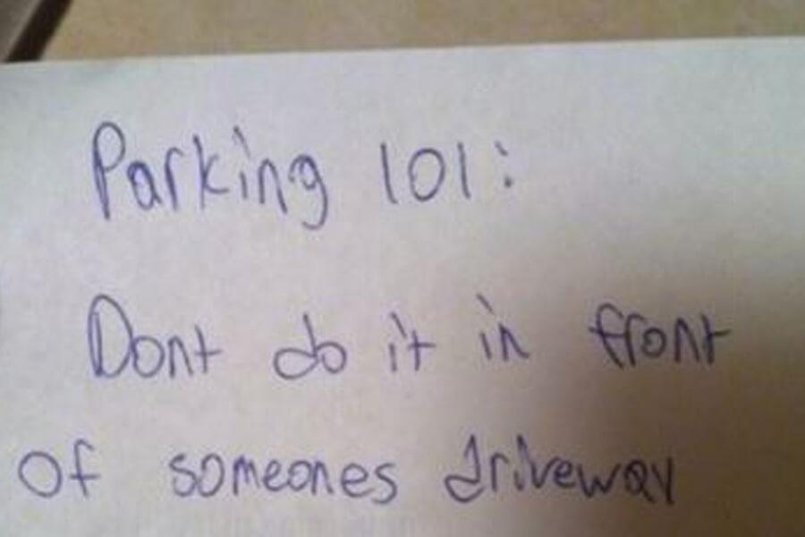 parking 101