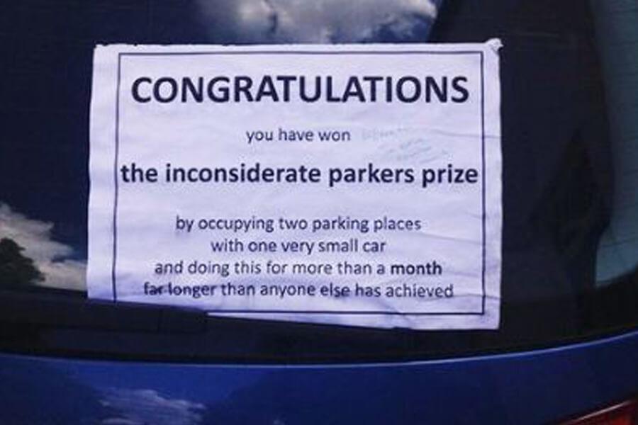 parking prize