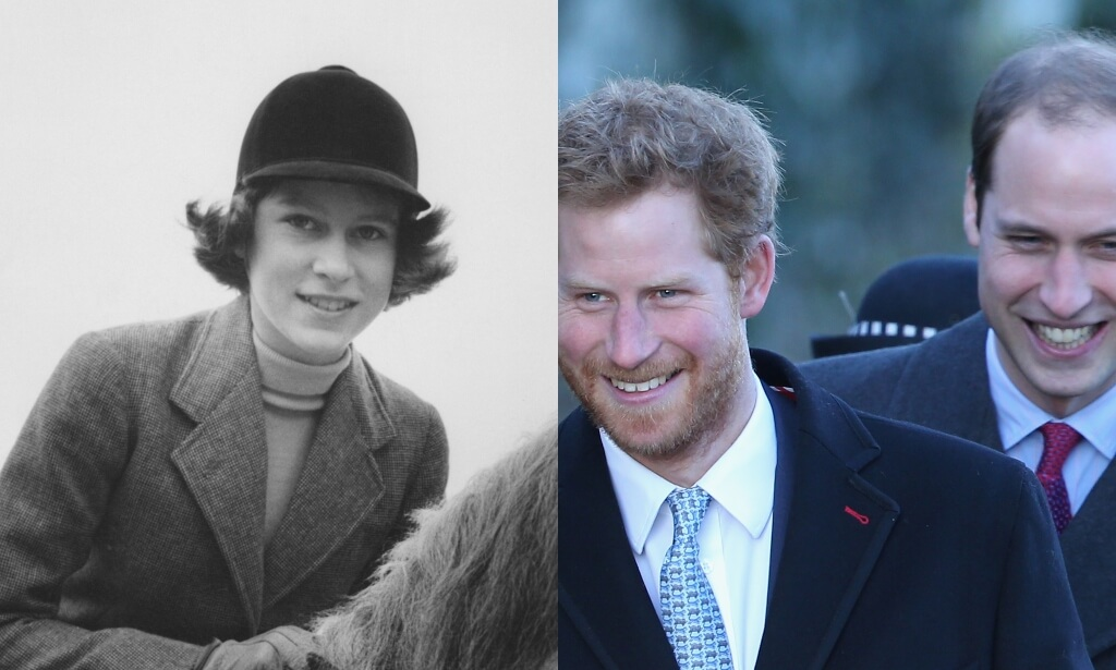 queen elizabeth ii prince william prince harry
