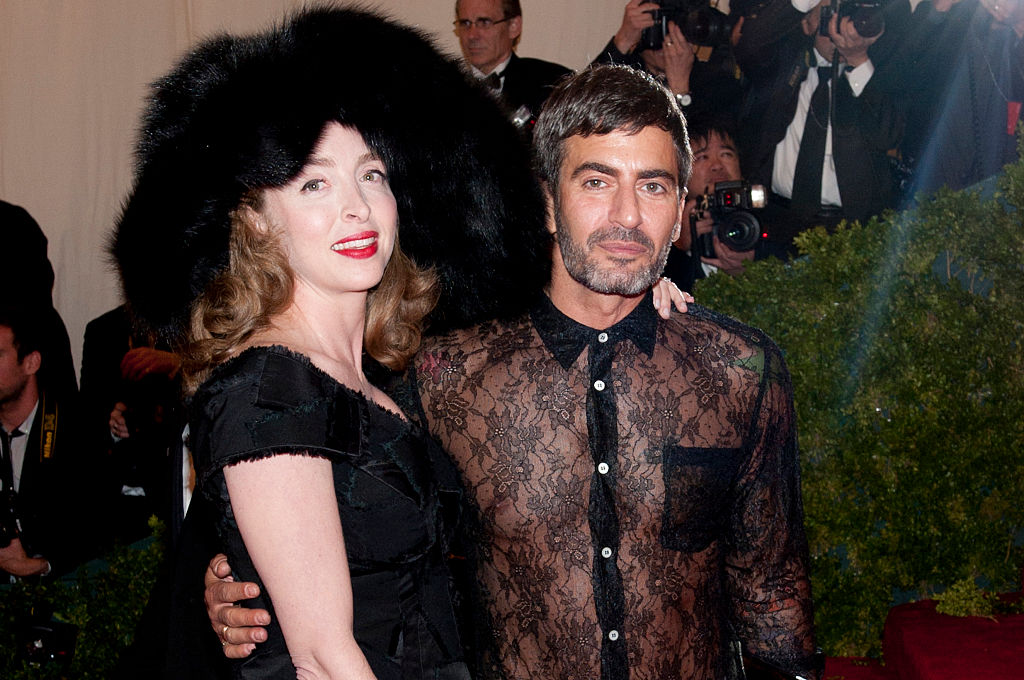 marc jacobs mesh top met gala