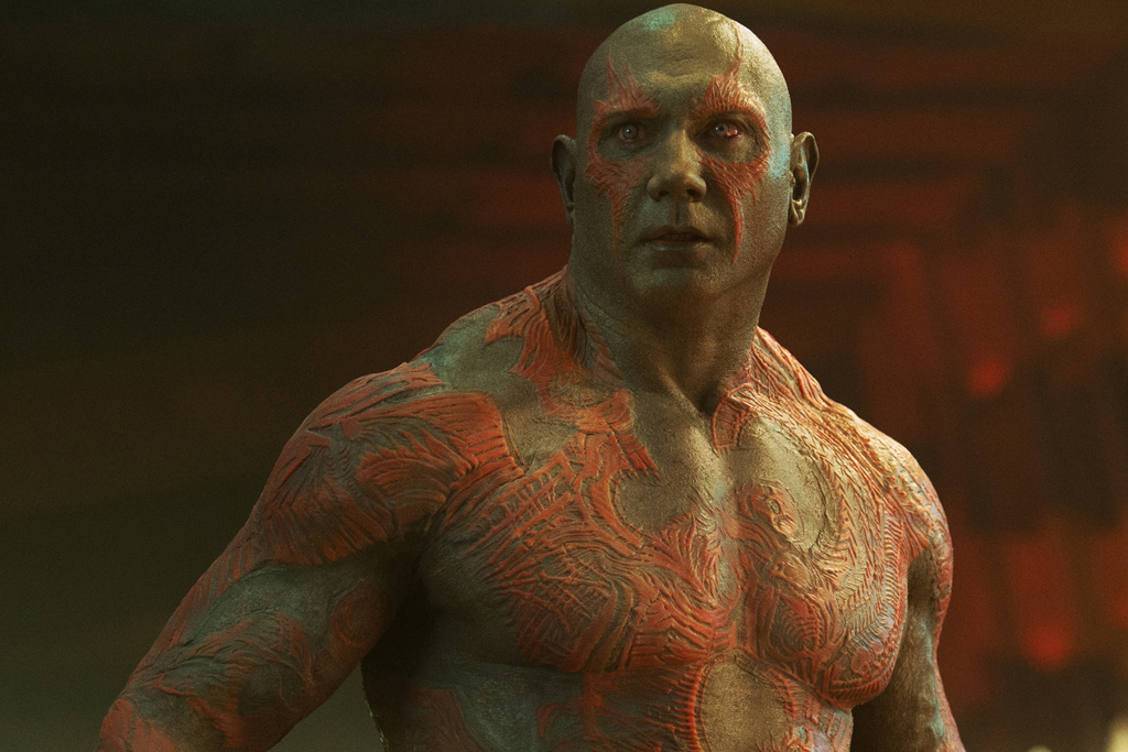 avengers drax is a human in the comics