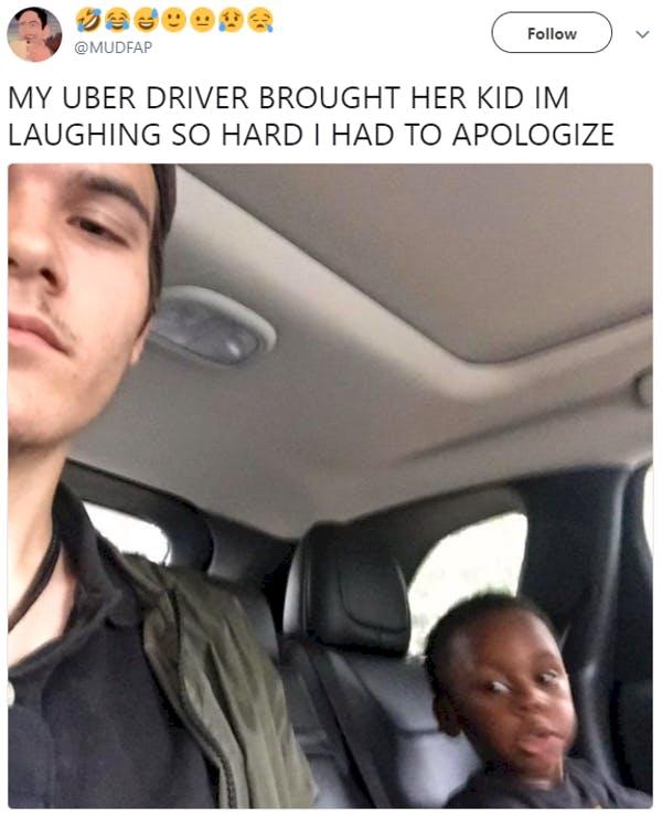 brought her kid