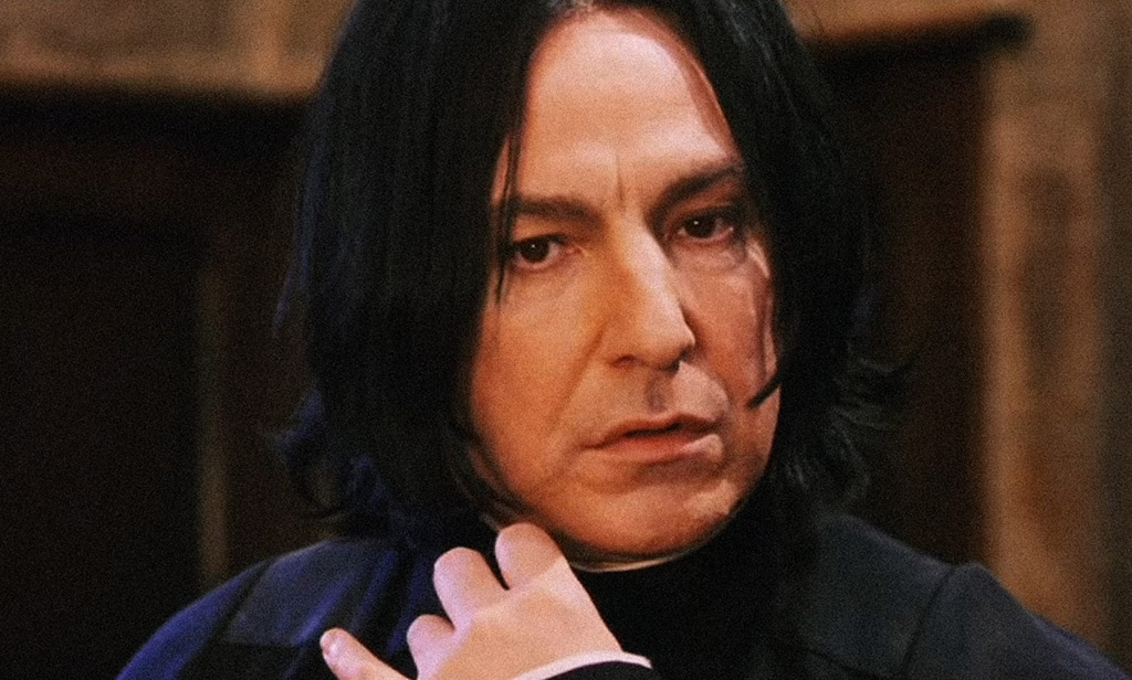 Almost Didn't Play Snape