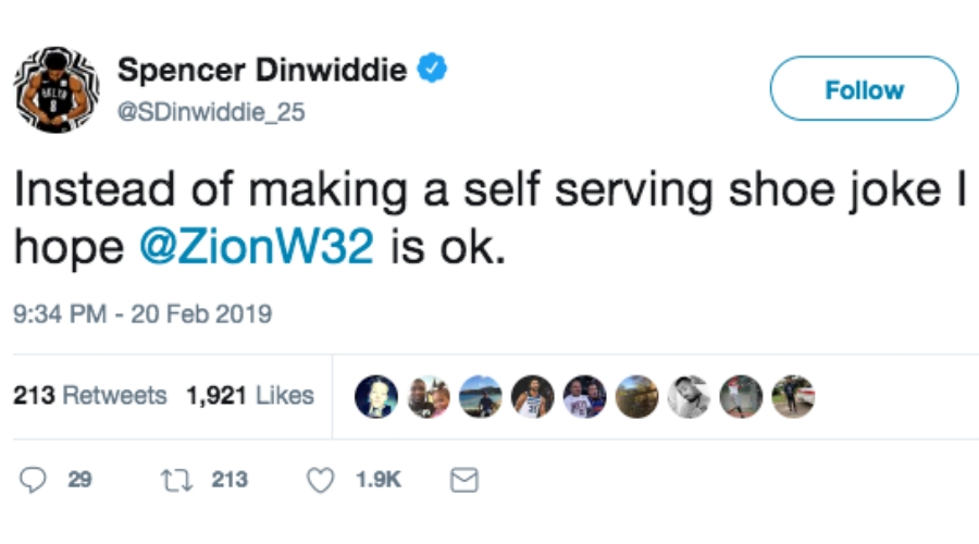 dinwiddie tweet