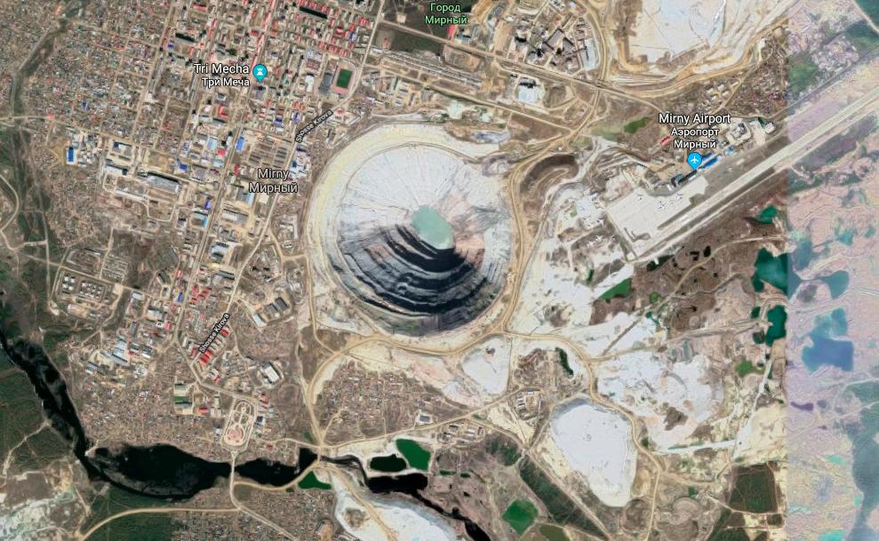 Mine-google-earth