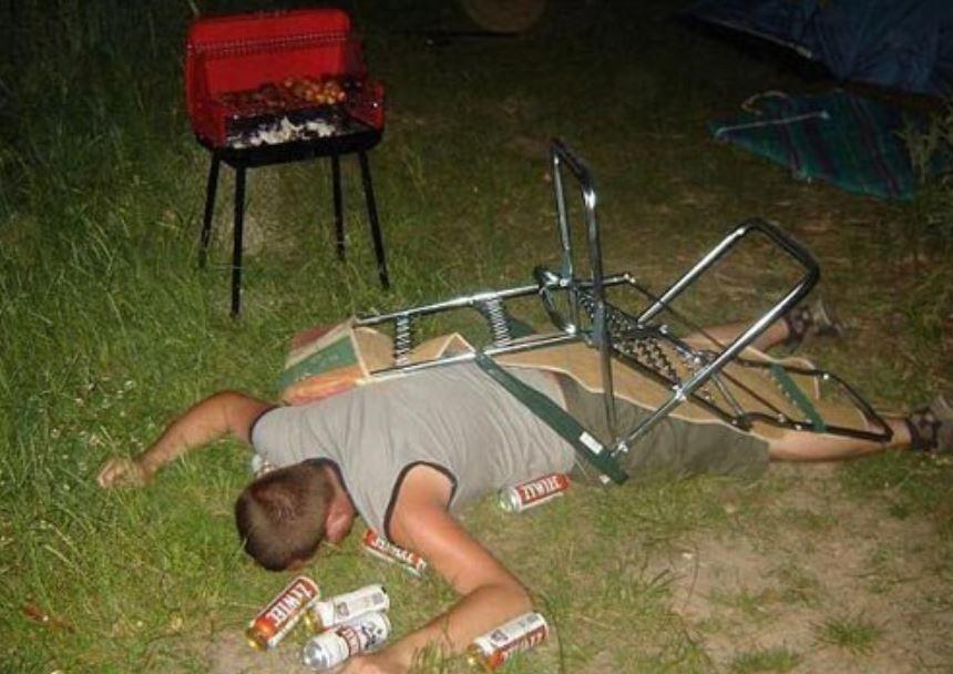 drunk camper