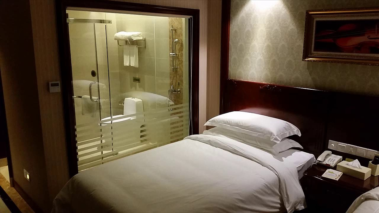 shared space hotel room