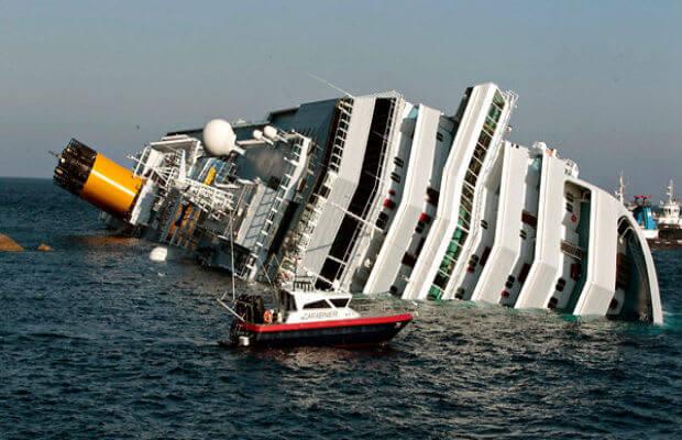 ship fell