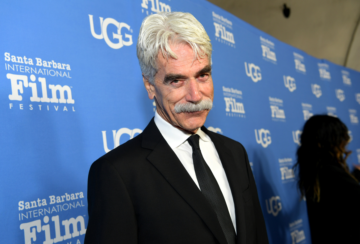 Sam Elliot is known for his moustache