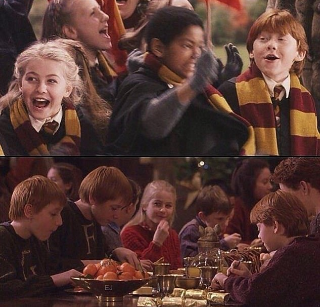 Julianne Hough was an extra in a Harry Potter film
