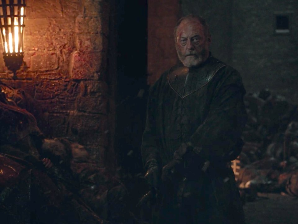 ser davos ready to kill melisandre