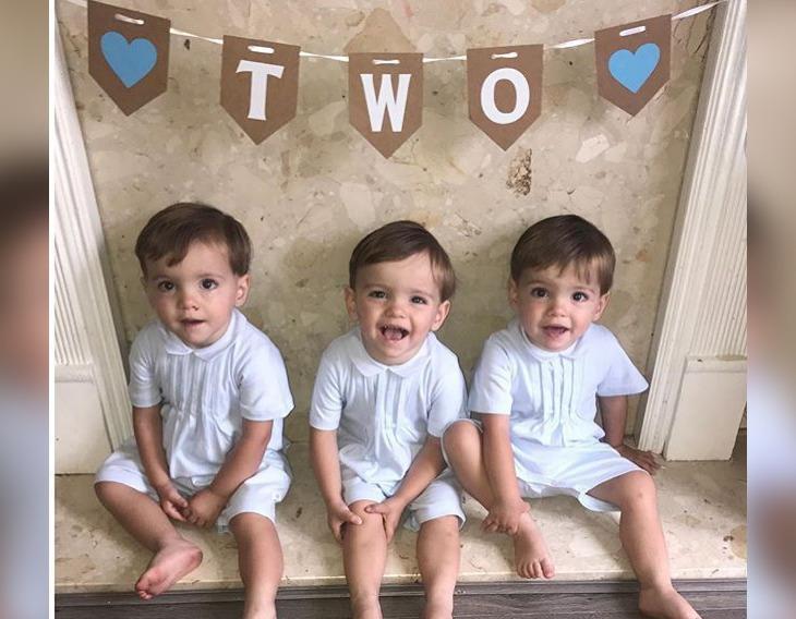 Allen identical triplets birthday