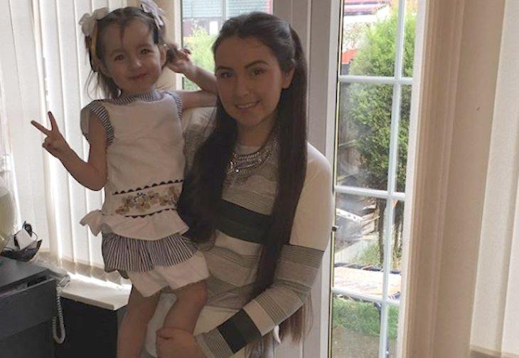 Becki-Jo Allen with daughter Indiana