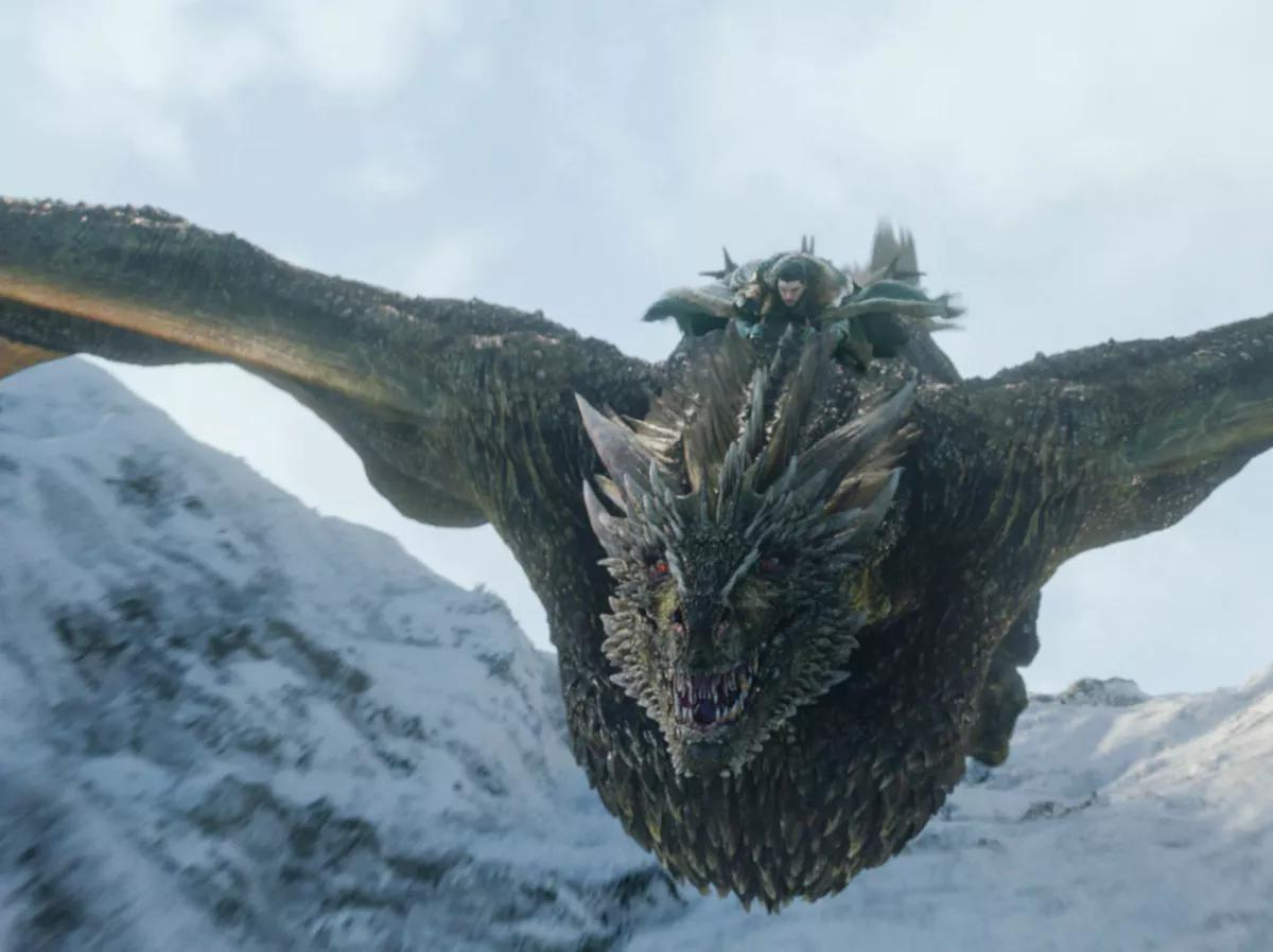 rhaegal dragon got
