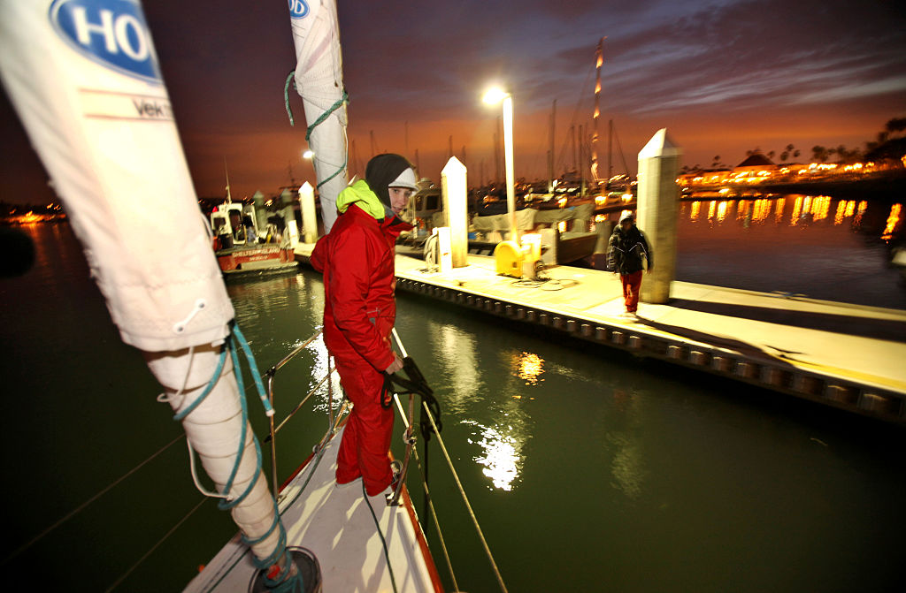 abby sunderland wild eyes sailed around the world boat reunion