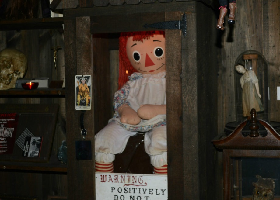 lorraine warren annabelle doll real life conjuring