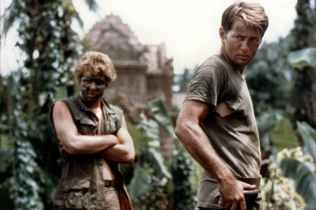 Martin Sheen and Sam Bottoms in Apocalypse Now