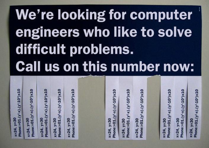 computer engineer job posting