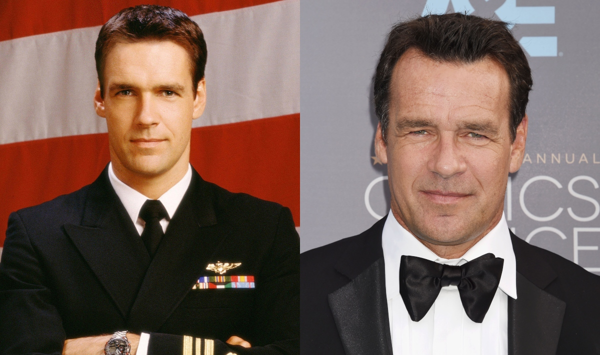 david james elliott played harmon rabb on jag