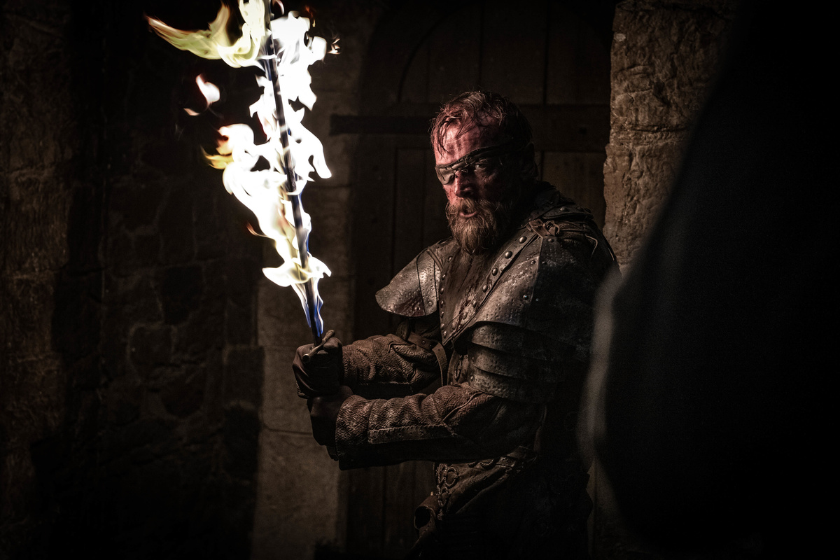 beric uses same spell as melisandre