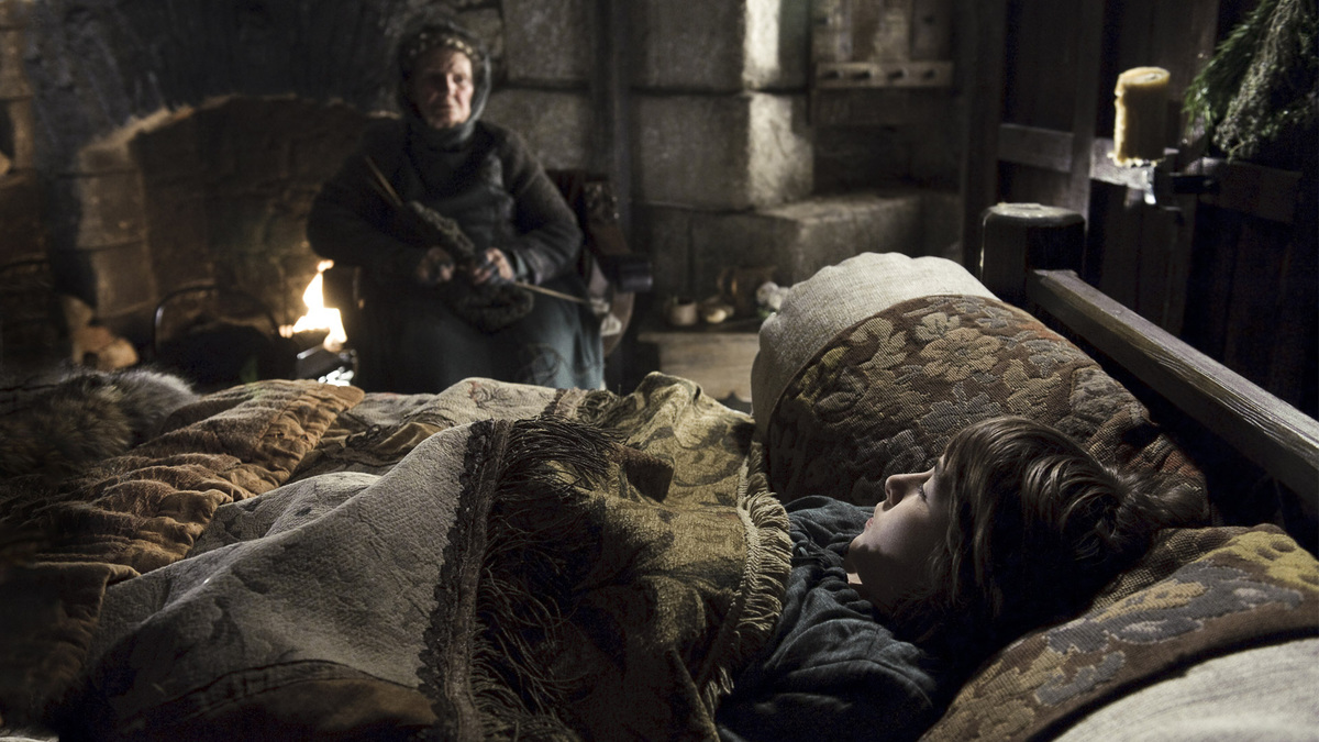 old nan tells bran a story about the long night