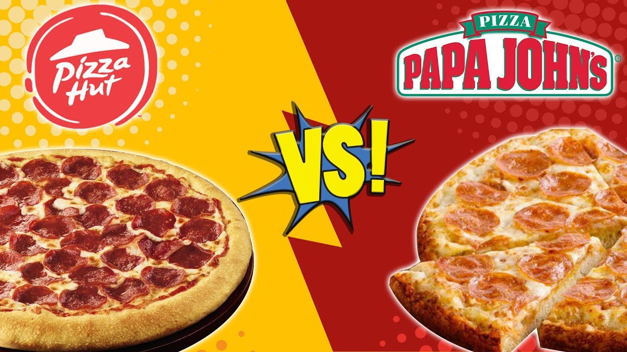 papa johns vs pizza hut 1997 feud