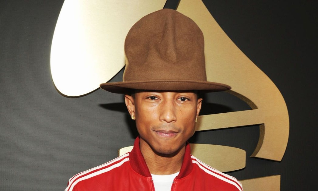 pharrell williams arbys hat