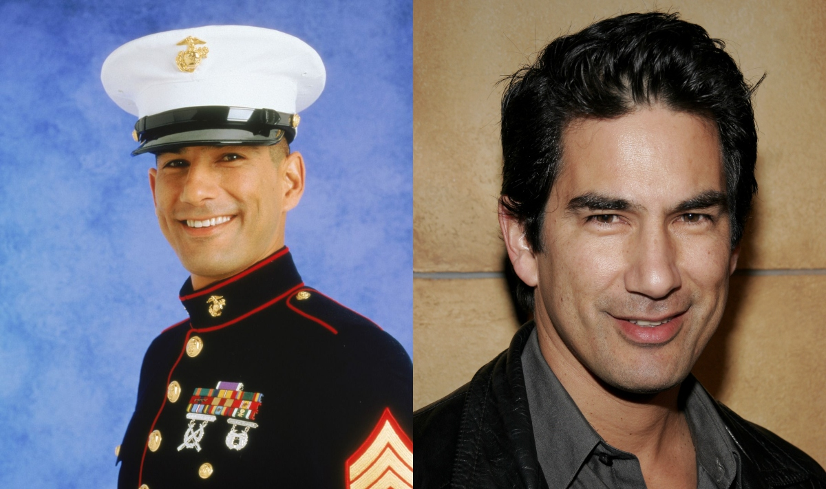 randy vasquez plays gunny victory galindez on jag