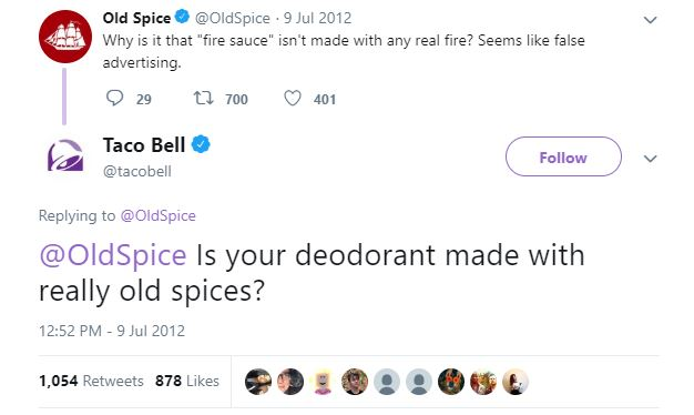 taco bell vs old spice feud