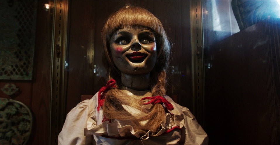 annabelle conjuring possessed doll warrens movie made up