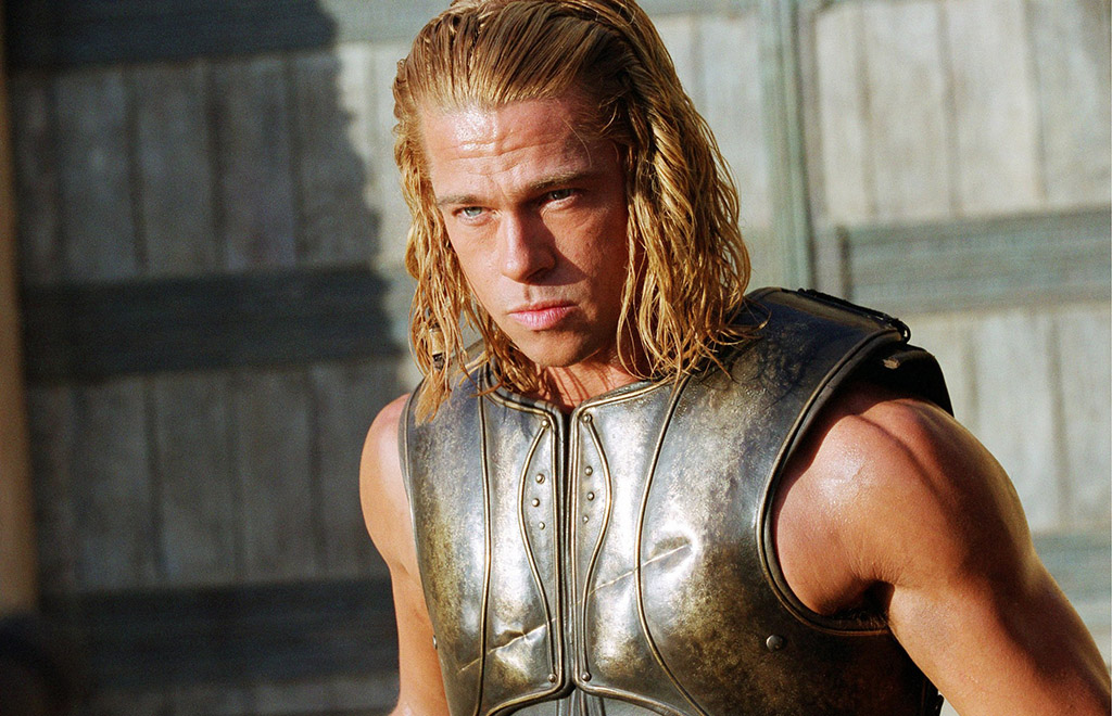 Picture of Brad Pitt as Achilles