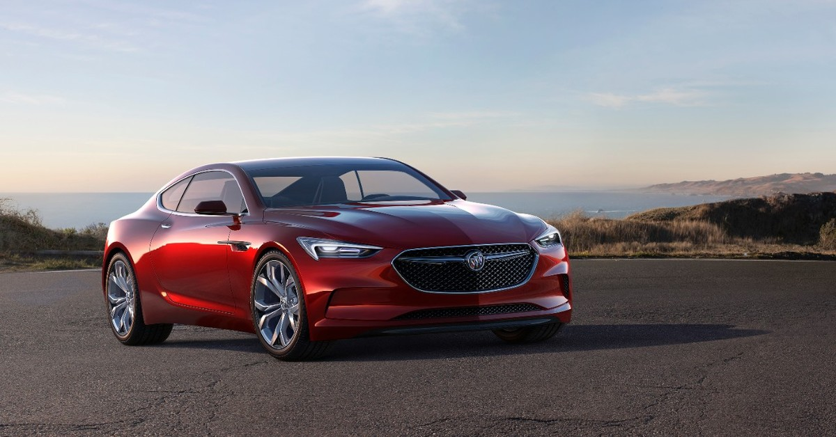buick avista failed concept car