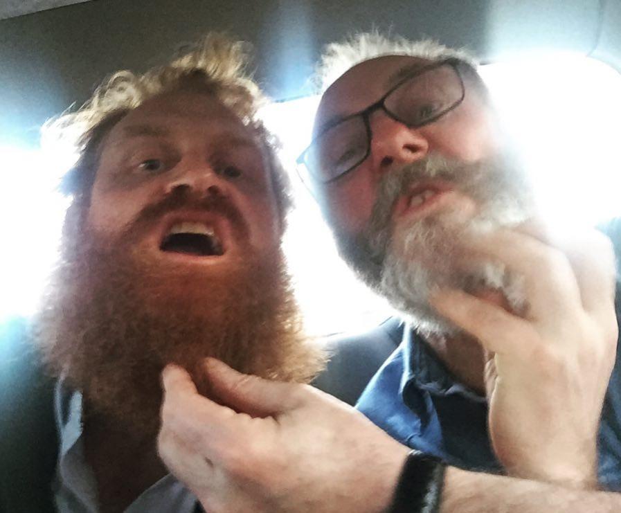 beard brothers got bts