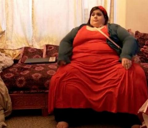 Amber Rachid at 657 pounds