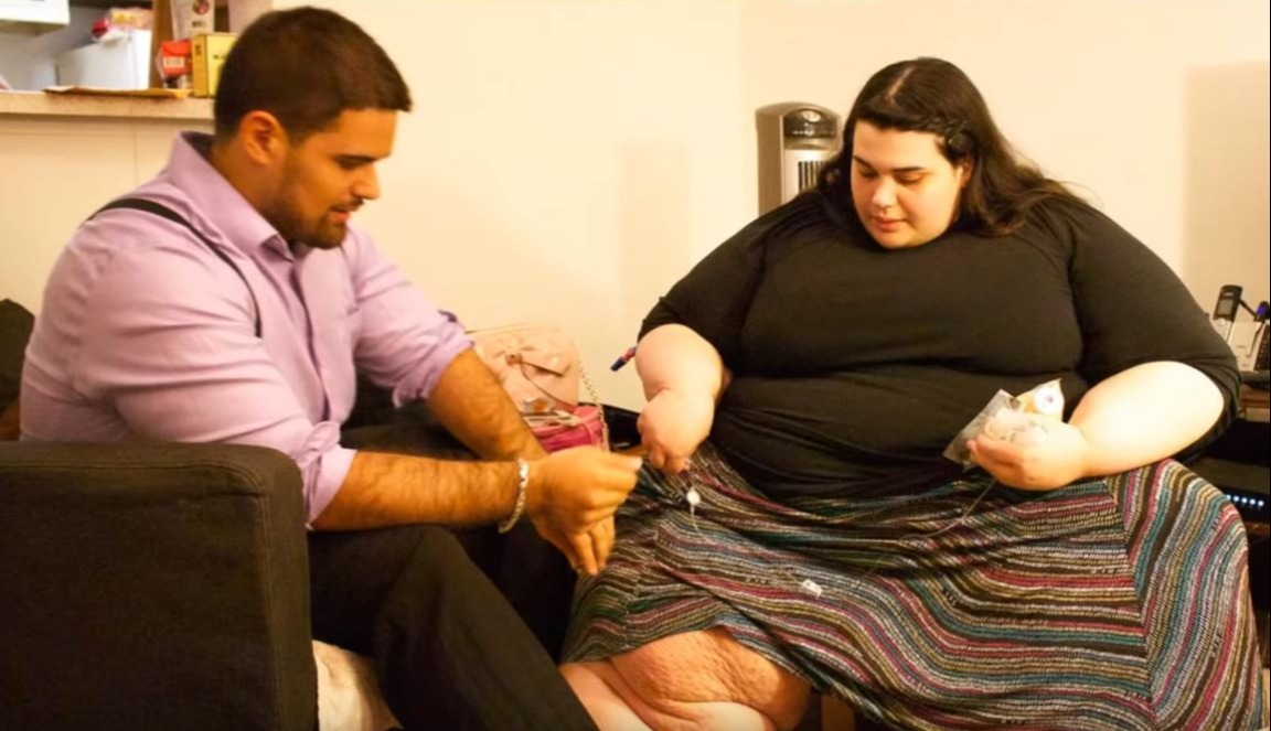Amber is interviewed for My 600-lb life