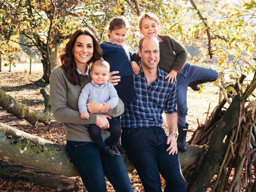 royal family william kate charlotte george louis