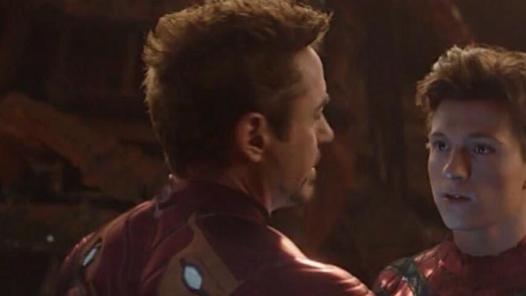 tom holland and tony stark i dont feel so good