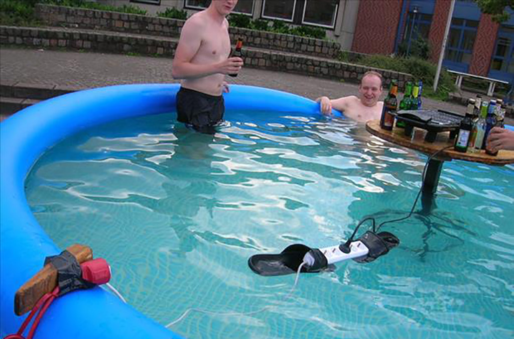 Invention Of The Year electricity in swimming pool