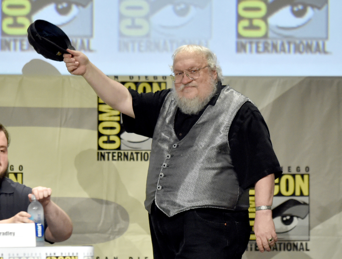 george rr martin game of thrones prequel